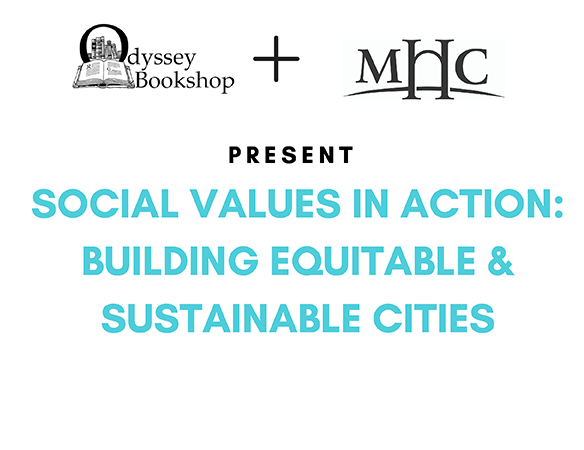 Social Values in Action: Building Equitable & Sustainable Cities flyer